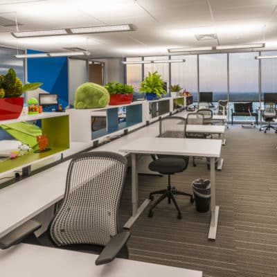 Google's Austin Office Space at University Park