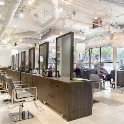 Retail Hair Salon Jose Luis at Hartland Plaza in Austin, Texas