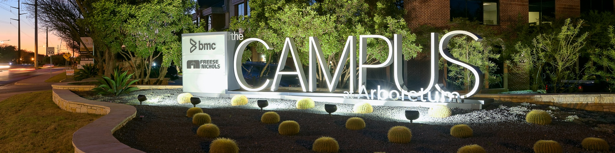 The Campus at Arboretum Sign | Office Space in Austin, Texas