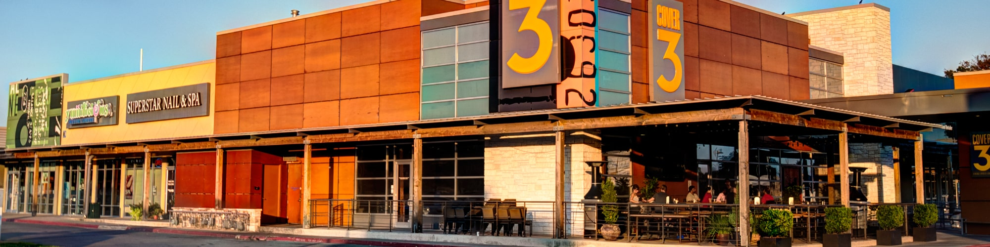 Cover 3 at The Village | 2700 W. Anderson Lane in Austin, Texas