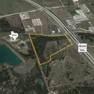 FM 2243 & 183A Available Lot | Land for Sale in Leander, Texas