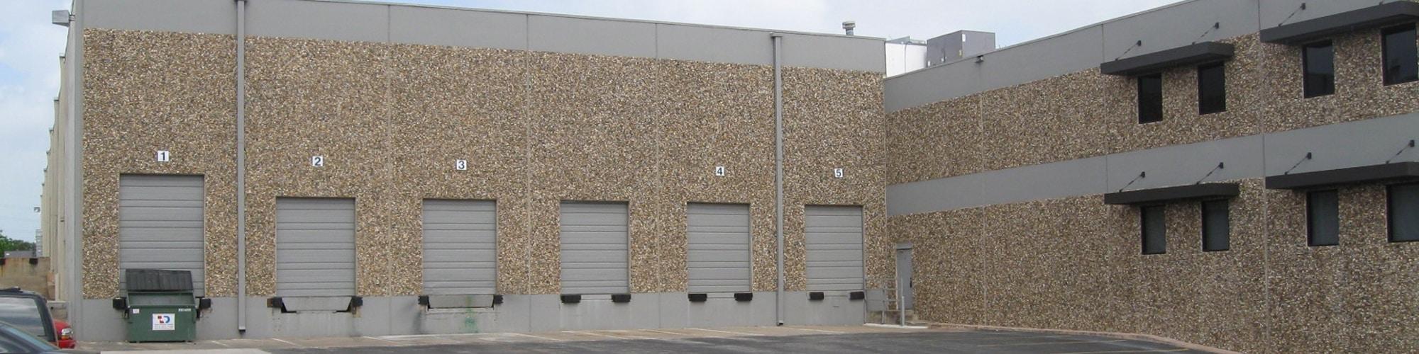 Metric Commerce Center Rear Exterior | 10300 Metric Boulevard in Austin, Texas
