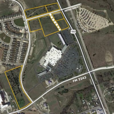 Metro Commercial Land Lots for Sale   Land for Sale in Leander, Texas