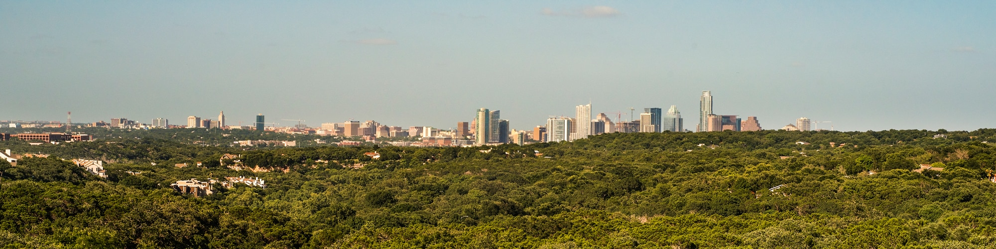 The Terrace Patio View | 2600 Via Fortuna Drive in Austin, Texas