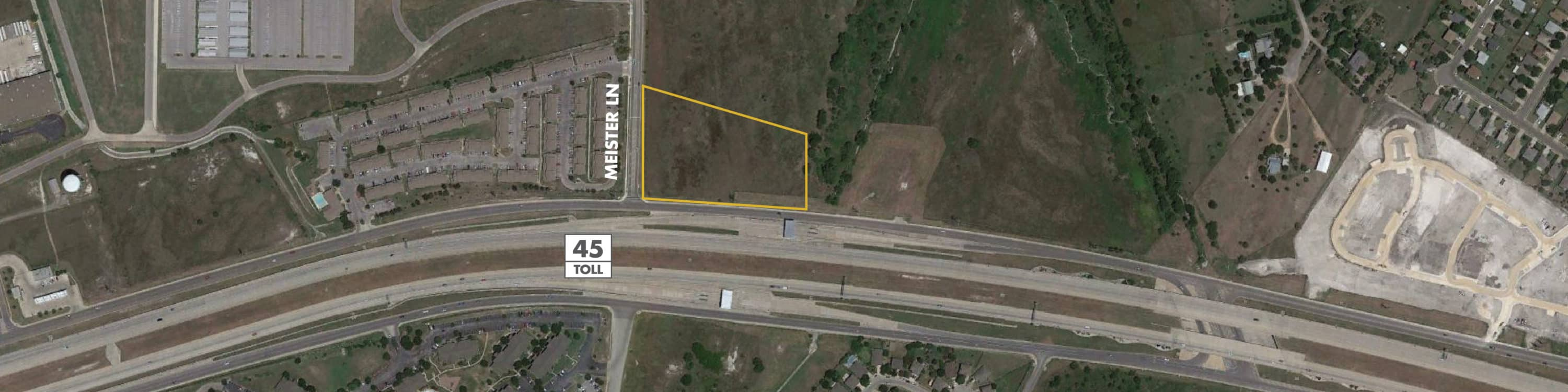 SH 45 & Meister Lane Land   Land for Sale in Round Rock, Texas