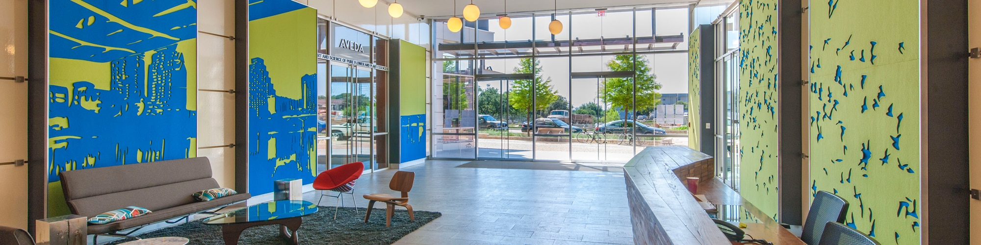 University Park Lobby | 3300 N. Interstate 35 in Austin, Texas
