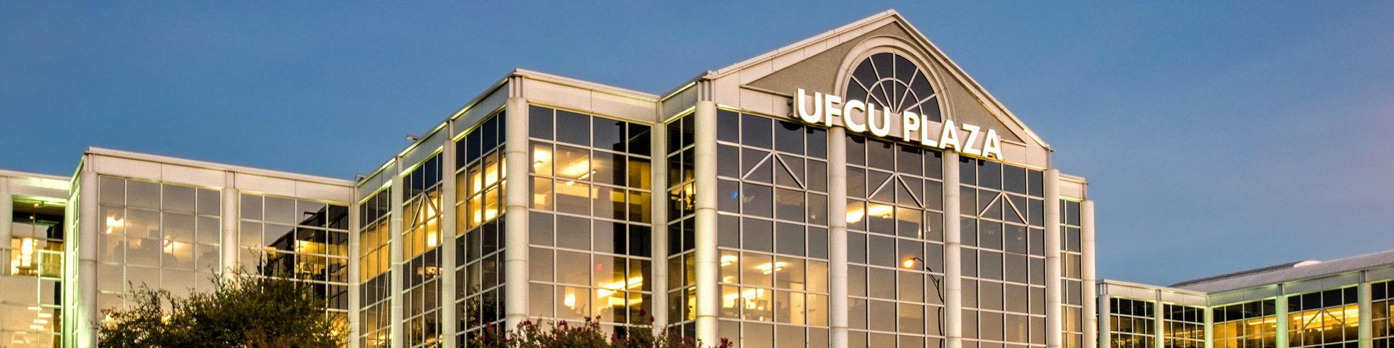 UFCU Plaza Exterior   8303 N Mopac Expressway in Austin, Texas   AQUILA Commercial