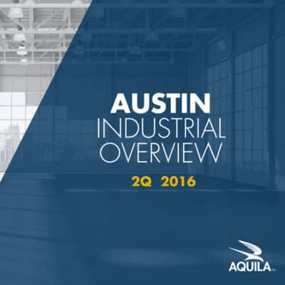 2Q 2016 Austin Industrial Overview