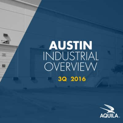 Q3 2016 Austin Industrial Overview Cover Image