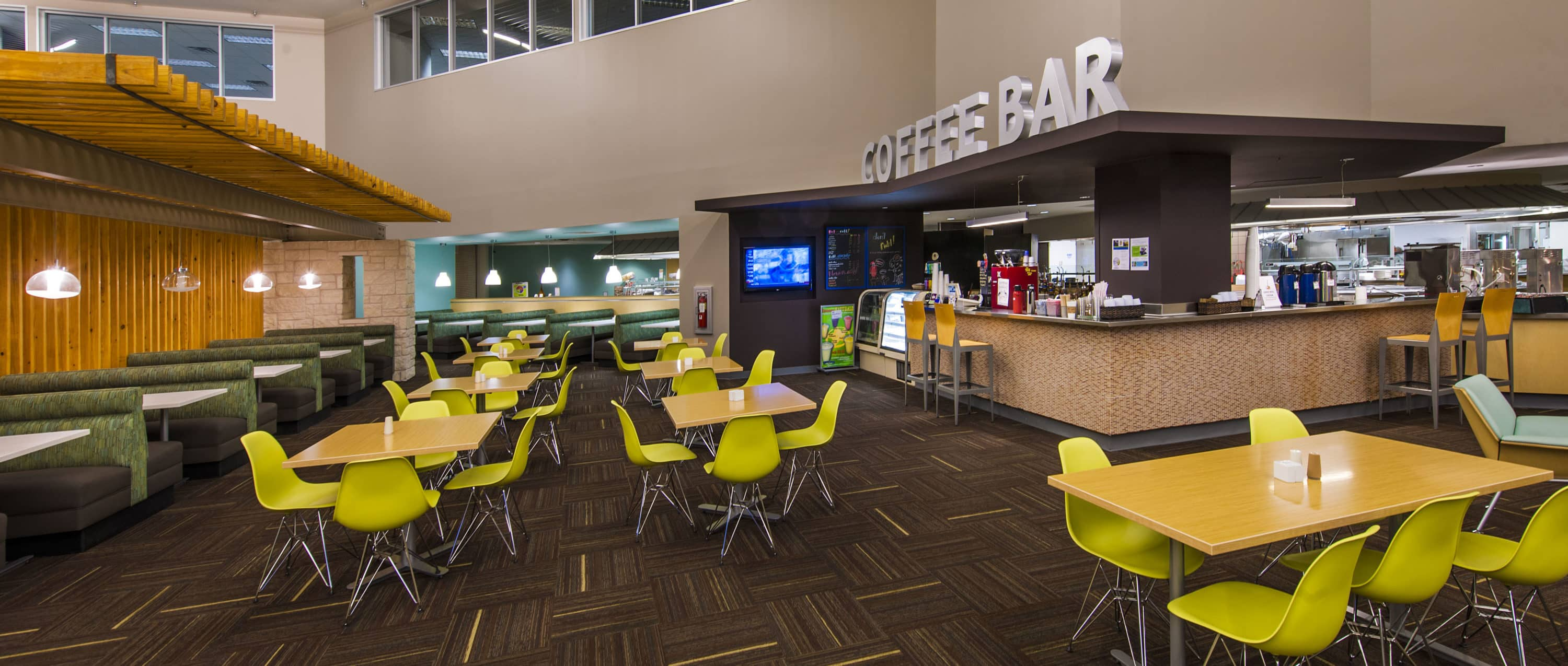Cafeteria at 7700 Parmer Office Campus in Austin, Texas