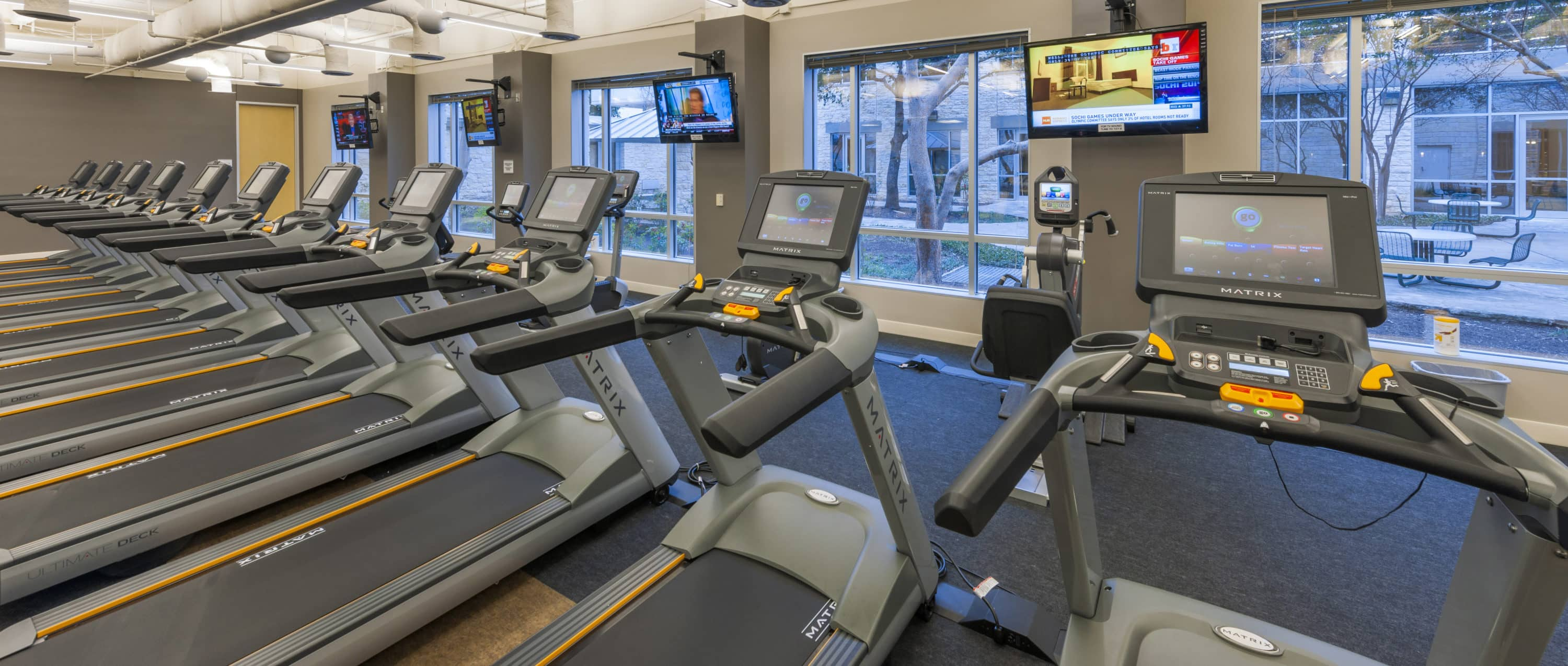 Fitness Center at 7700 Parmer Office Campus in Austin, Texas