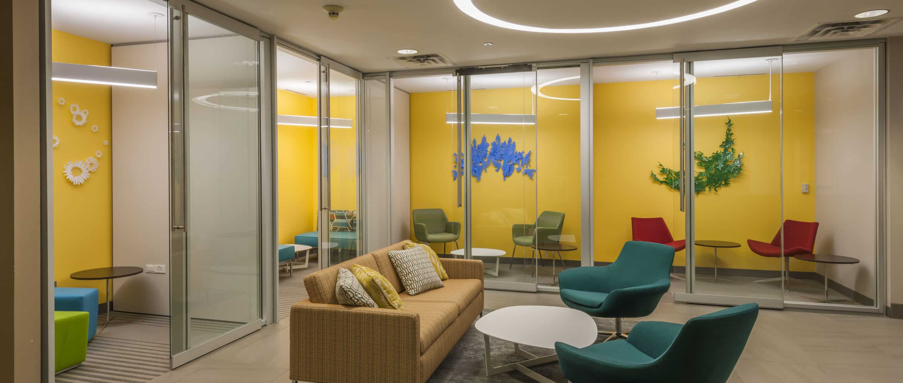 Lobby at 7700 Parmer Office Campus in Austin, Texas