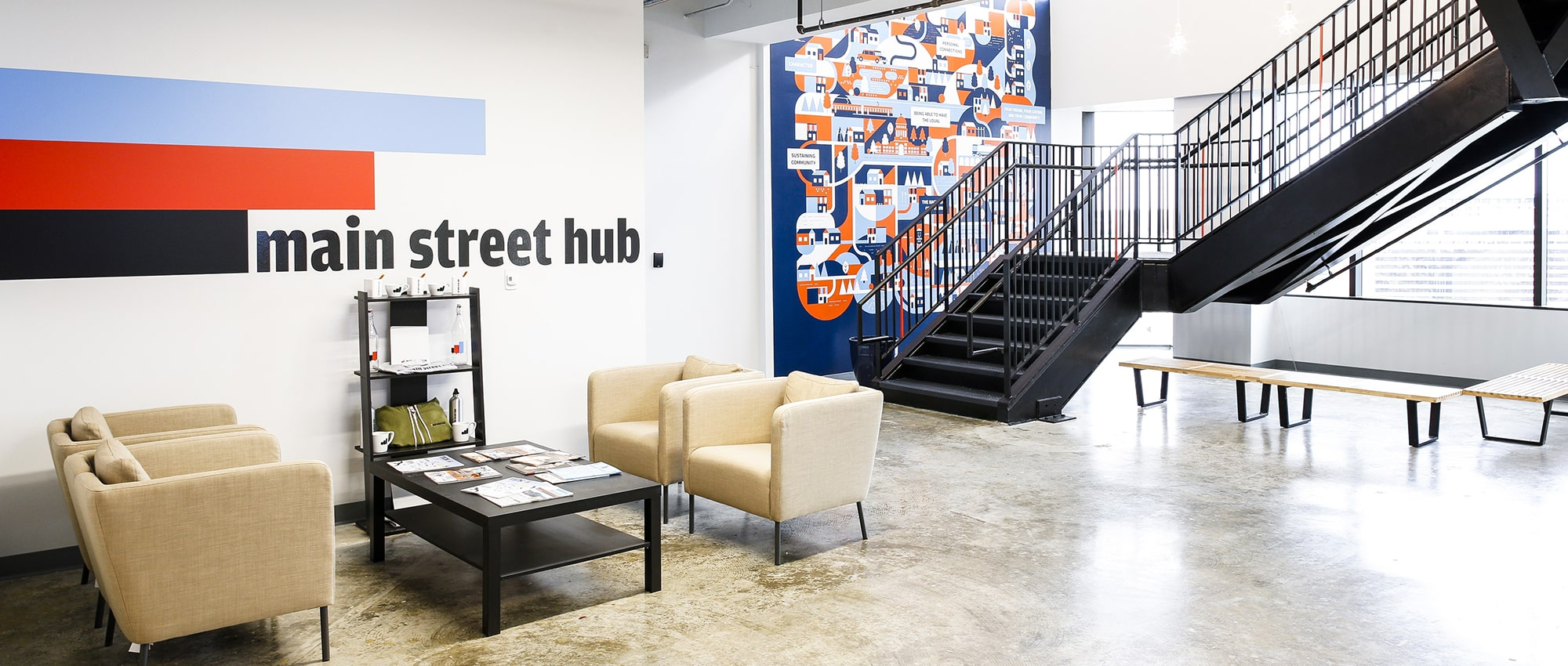 Main Street Hub Entryway in Austin, Texas