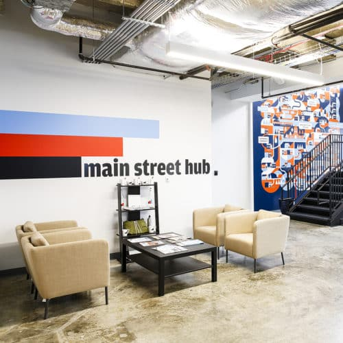 Main Street Hub interior | Austin, TX