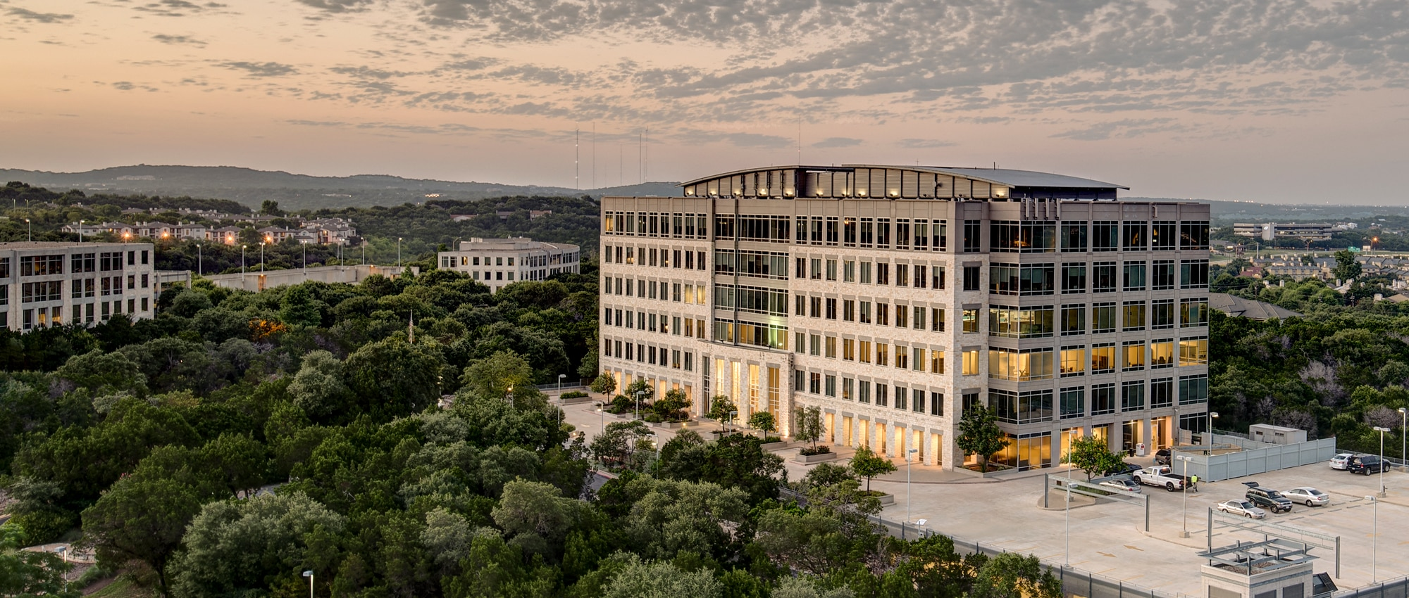 The Terrace Office Campus in Southwest Austin, Texas
