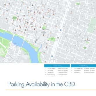 Austin Downtown Parking Availability Map