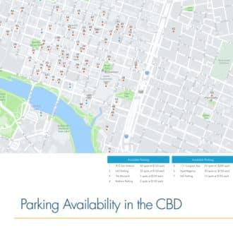 Austin Downtown Parking Availability Map