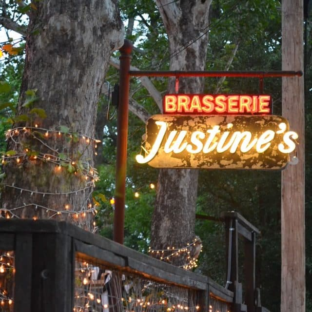 Justine's Brasserie in Austin's East Side Neighborhood | Best Restaurants in Austin, Texas