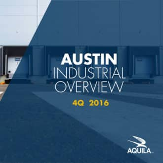 Q4 2016 Austin Industrial Overview Cover Image