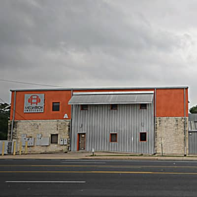 Exterior of south congress building in Austin, Texas