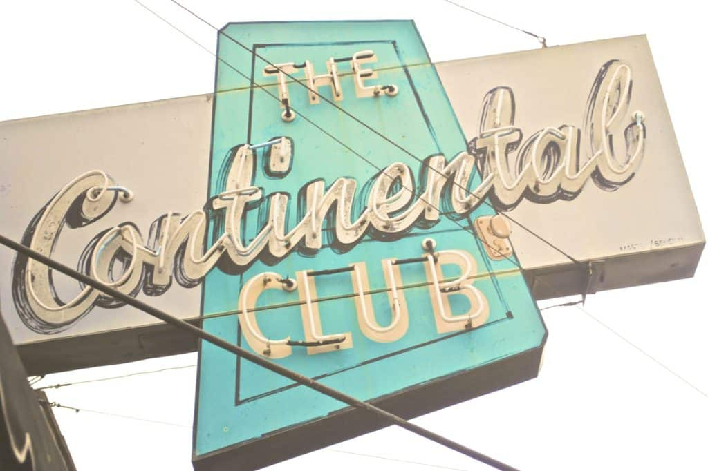 The Continental Club on South Congress Avenue in Austin, Texas | Best Bar, Best Live Music in Austin, Texas