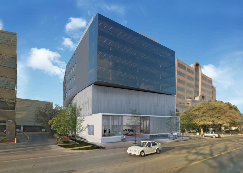 801 Barton Springs Modern Office Rendering | Austin, Texas