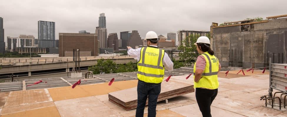 801 Barton Springs Construction Site in Austin, Texas