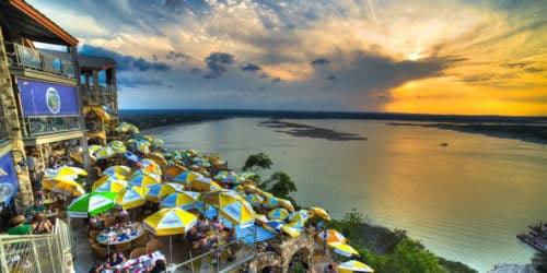 Lake Travis View from the Oasis | Best Restaurants in Austin, Texas