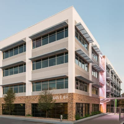 Exterior Image of Eastside Village in Austin, Texas