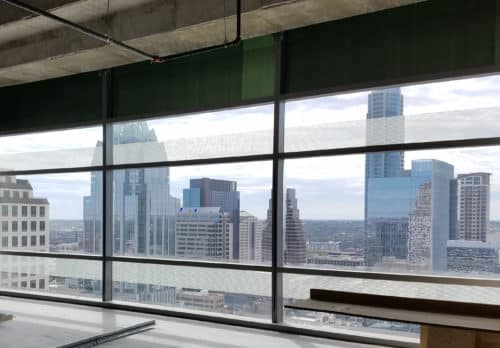 View of Downtown Austin from 210 West 7th Street
