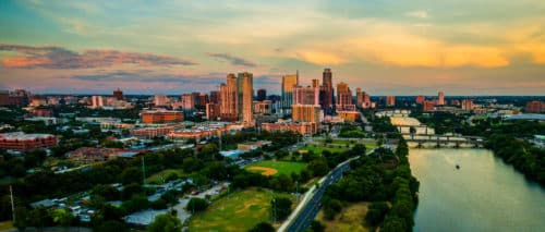 View of the Austin, Texas Skyline: The Best of Downtown Austin