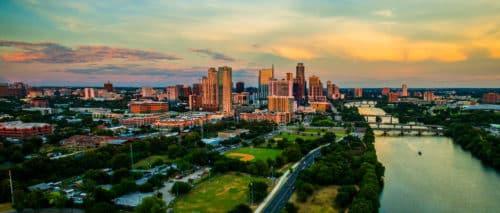 View of the Austin Skyline