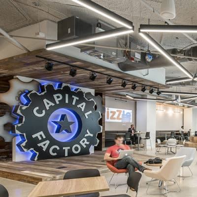 Capital factory interior office space | Austin, TX