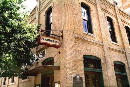 Lambert's Barbeque in Downtown Austin, Texas