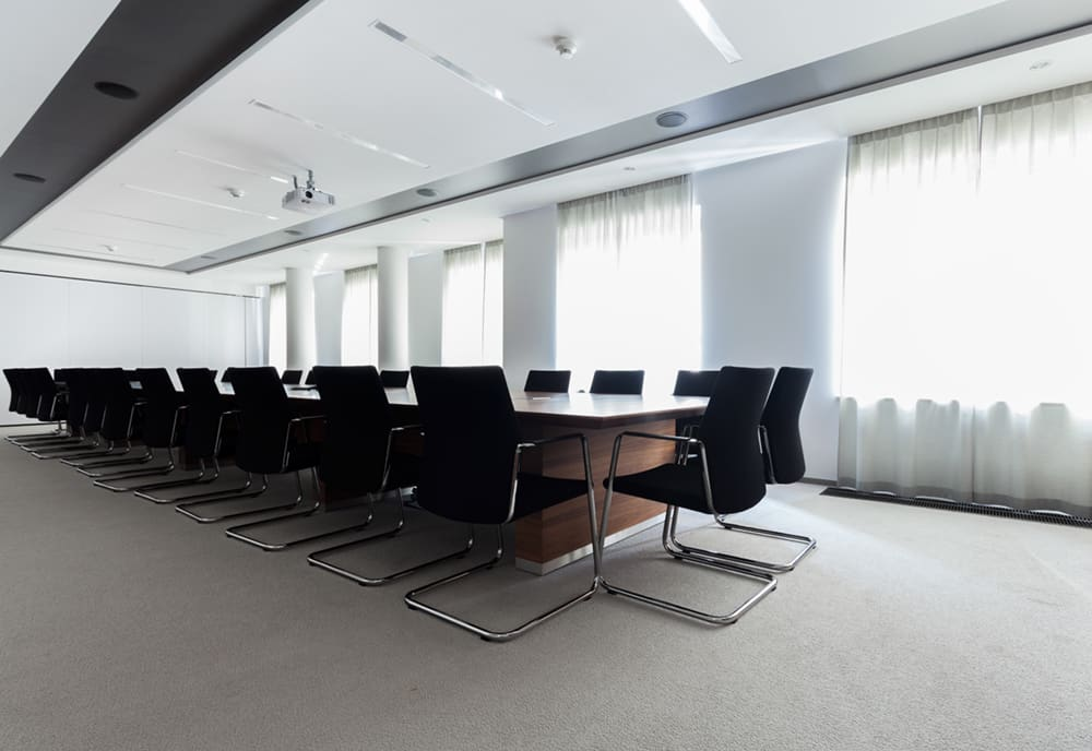 Modern Office Conference Room | Rental Office Furniture