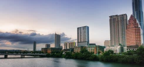 Austin, Texas Downtown Skyline