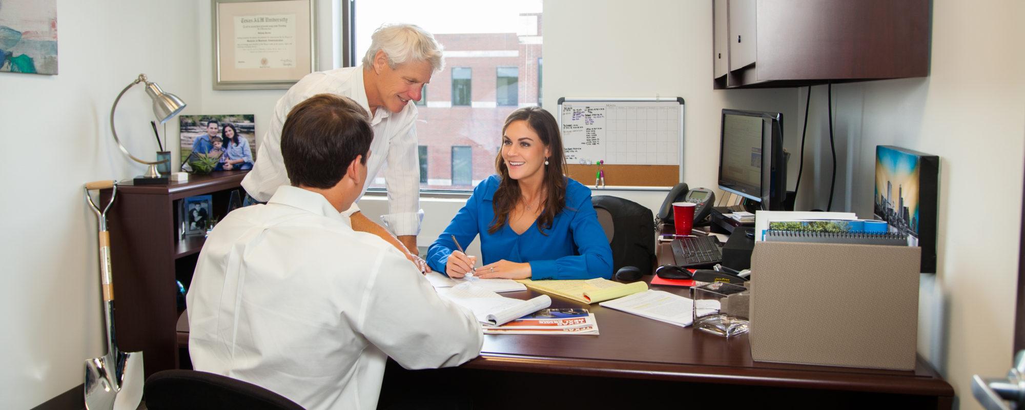 AQUILA's Project Leasing Brokers   Seth Stuart, Bart Matheney, Bethany Perez