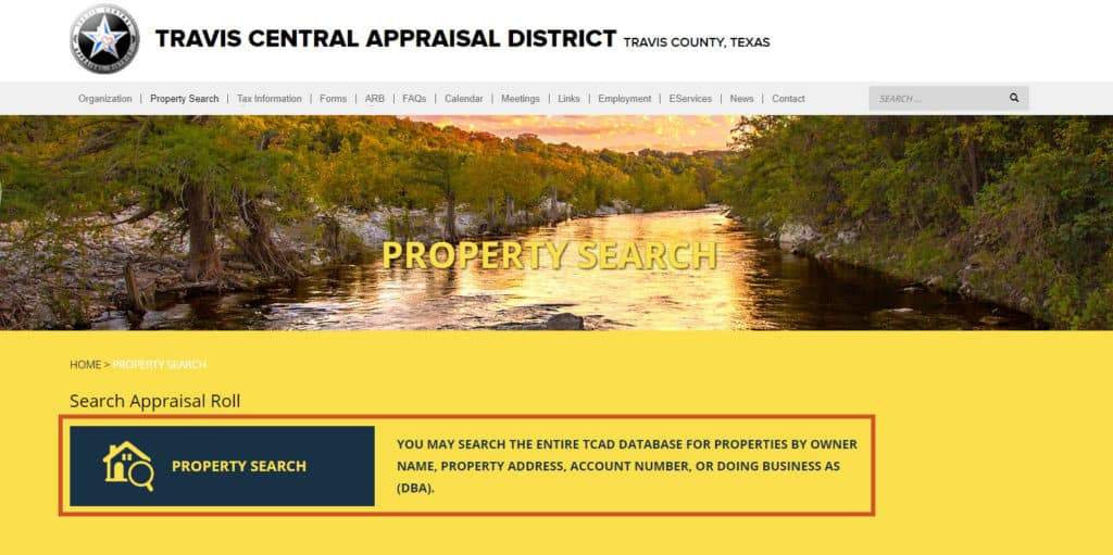 Property Tax Austin Travis County