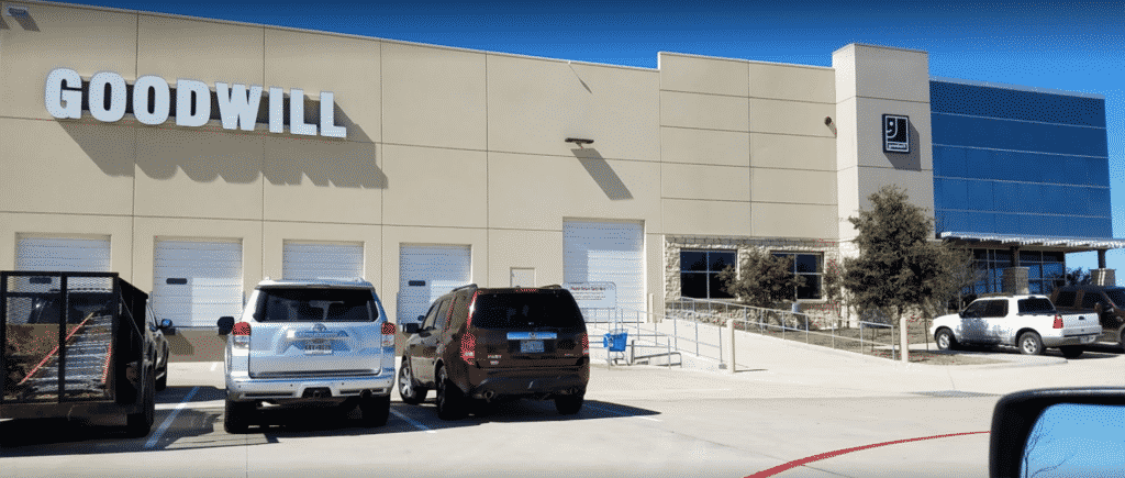 Goodwill North Outlet in Austin, Texas | why use a tenant rep broker