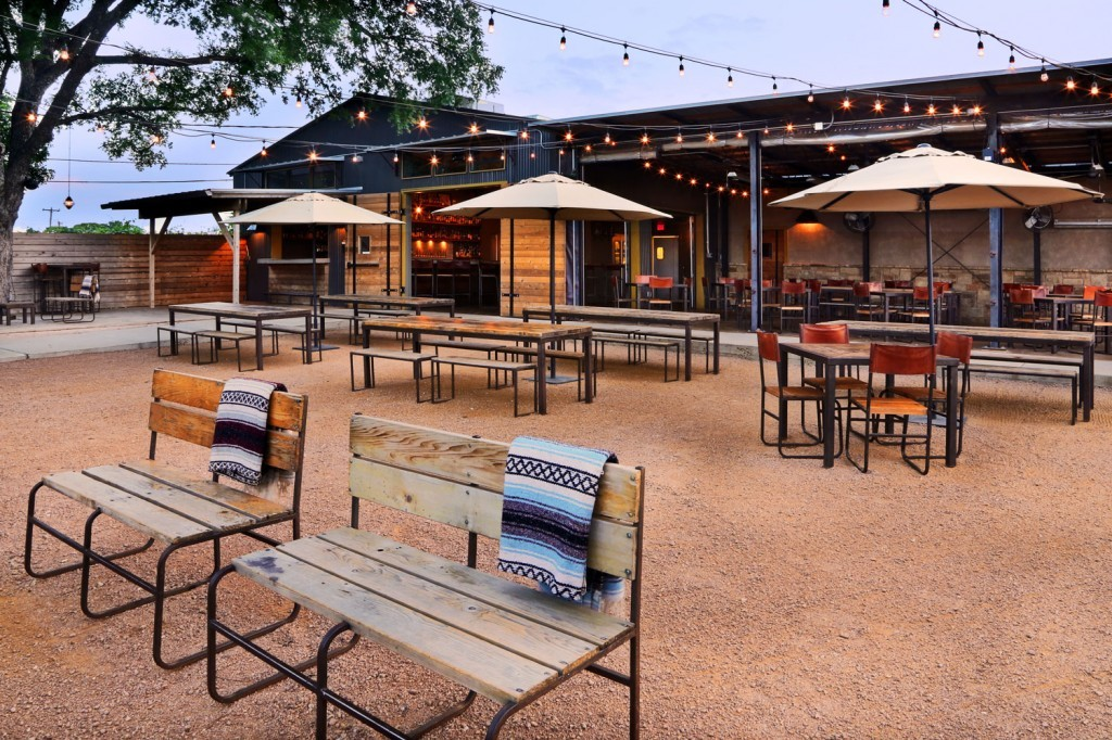 Outdoor Area at Contigo in Mueller | Best Restaurants Austin, TX