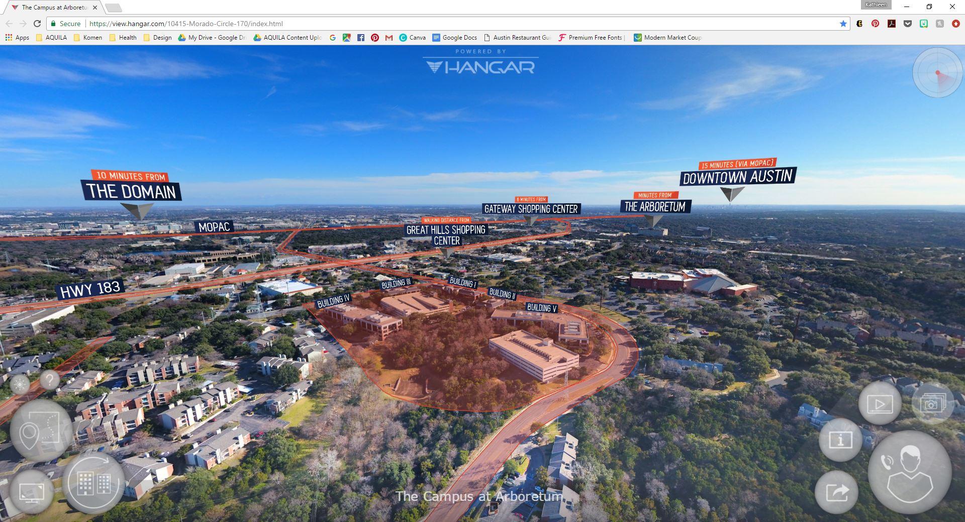 Hangar Drone Aerial