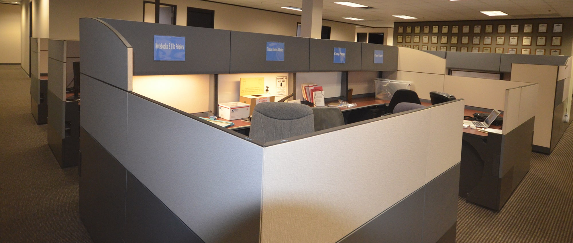 Strongbox Interior Space