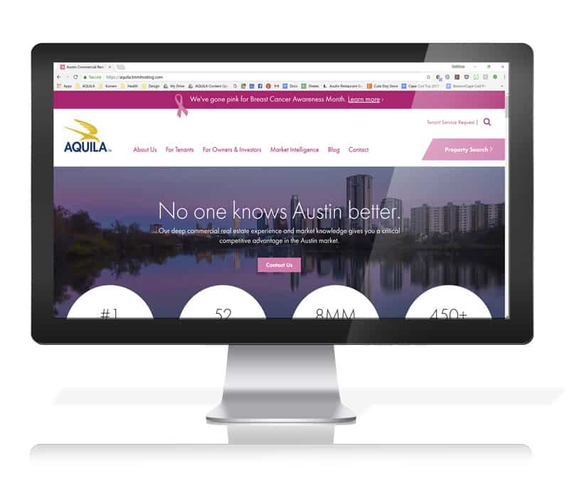 The Pink AQUILA Website