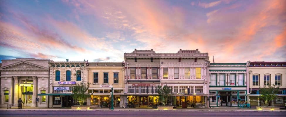 Austin-Avenue-Sunset-Georgetown-Texas