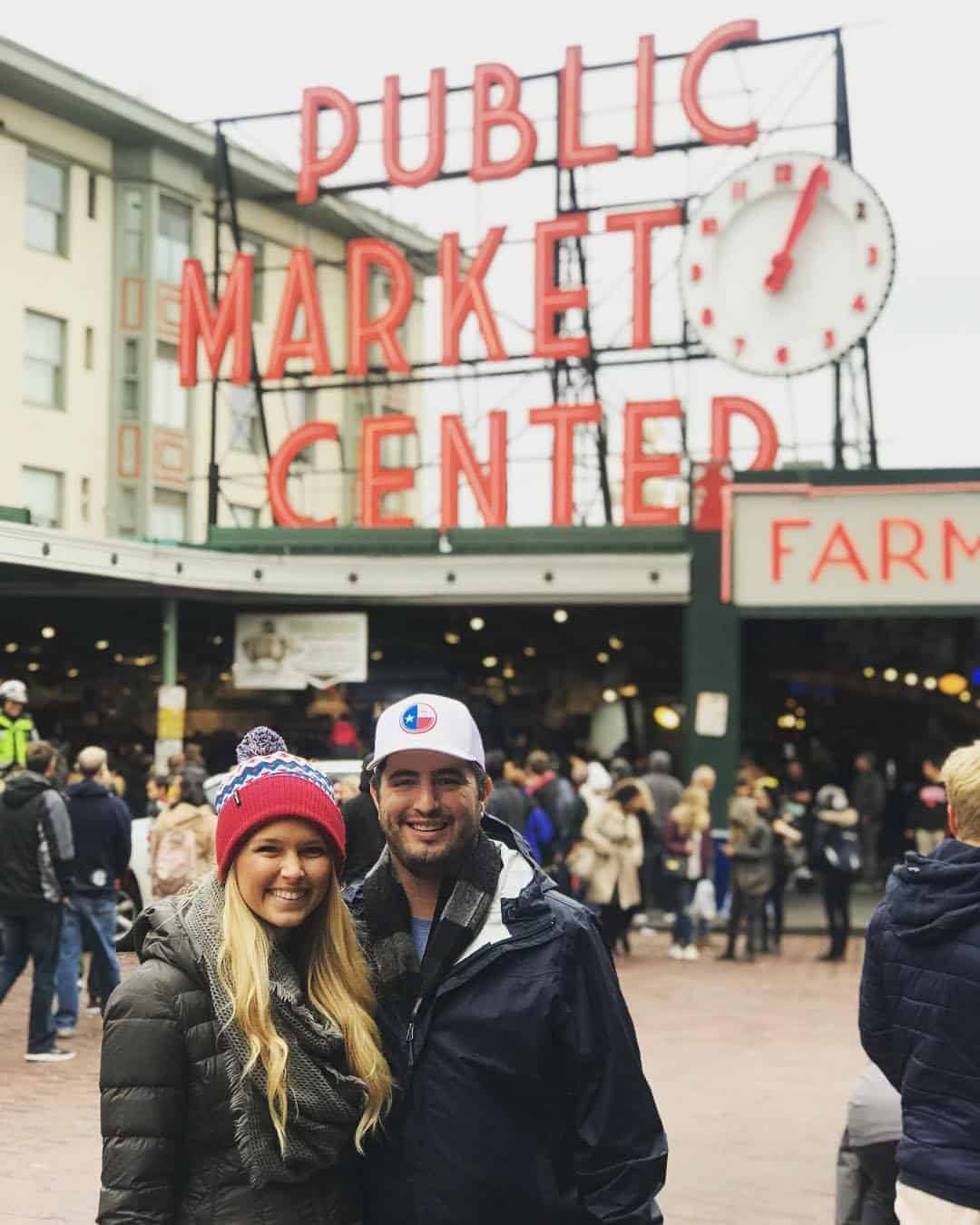 Jon and his wife, Meredith, during a trip to Seattle.