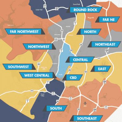 Austin-Industrial-Submarket-Map