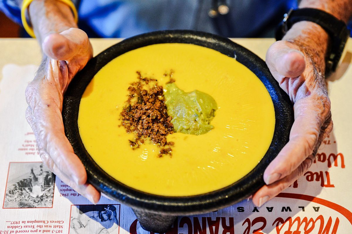 Bob Armstrong Queso at Matt's El Rancho | Best Restaurants South Lamar, Austin, TX