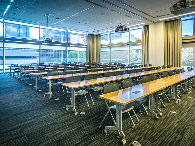 Conference Center at 210 W 7th Street in Austin, TX | Types of Office Property Classifications