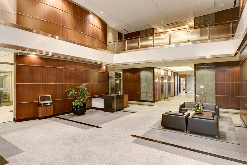 Lobby Space at The Terrace in Austin, Texas | Common Area Maintenance for Office