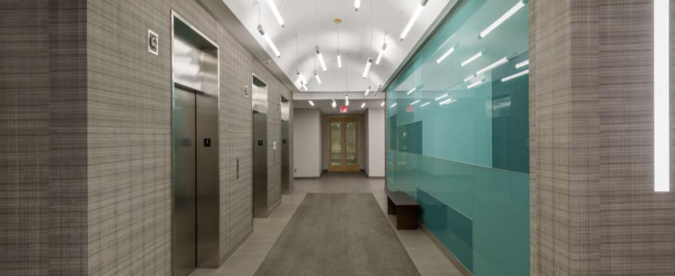 Elevator Lobbies are considered common areas for CAM expenses